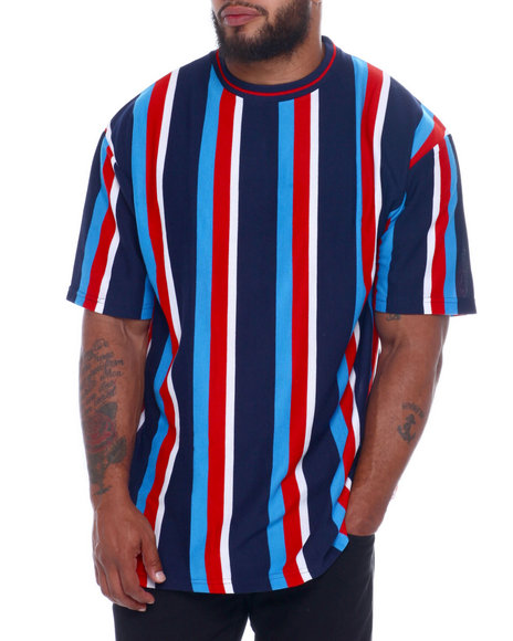 NOTHIN' BUT NET - Yarn Dyed Pique S/S Crew Neck W/ Loose Fit (B&T)