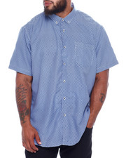 NOTHIN' BUT NET - Printed Microfiber Woven Shirt (B&T)-2376025