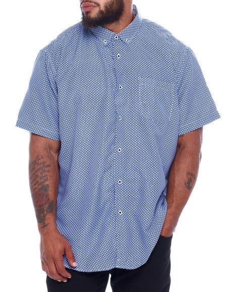 NOTHIN' BUT NET - Printed Microfiber Woven Shirt (B&T)