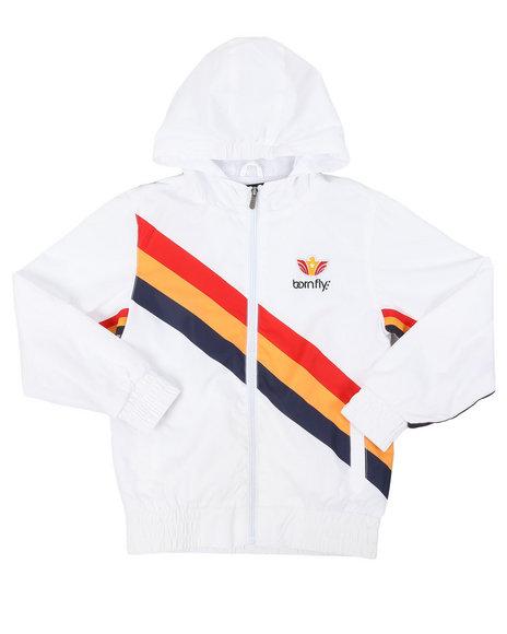 Born Fly - Printed Nylon Jacket (8-20)