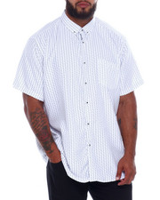 NOTHIN' BUT NET - Printed Microfiber Woven Shirt (B&T)-2376049