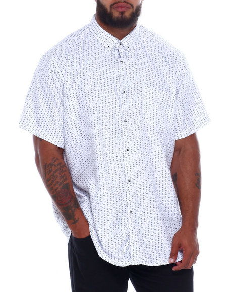 NOTHIN' BUT NET - Printed Microfiber Woven Shirt (B&T)