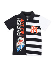 Boys - Parish Graphic Polo (4-7)-2376000
