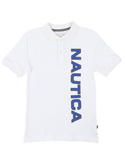 Nautica - Classic Fit Oxford Polo (8-20)-2375750