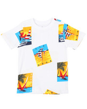 T-Shirts - All Over Printed Tee (4-7)-2376229