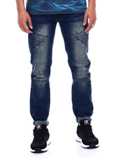 Jeans & Pants - CUT AND SEW PANEL MOTO JEAN-2376990