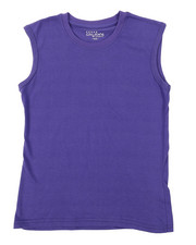Tops - Solid Muscle T-Shirt (8-20)-2376243