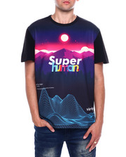 Vie + Riche - Super Human Digital Landscape Tee-2376951