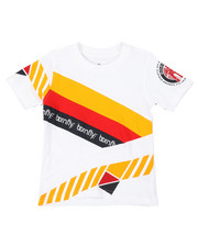 T-Shirts - Pieced Color Block Tee (2T-4T)-2376234