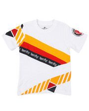 T-Shirts - Pieced Color Block Tee (4-7)-2376544