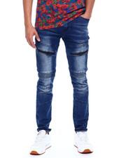Jeans - MOTO JEAN W WATERPROOF ZIPPER DETAIL-2375926