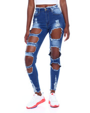 Red Fox - Heavy Ripped Skinny Jean-2376517