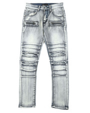 Jeans - Ripped Knee Denim Jeans (8-20)-2377187