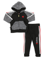 Boys - 2 Pc Hoodie & Jogger Pants Set (4-7)-2376730