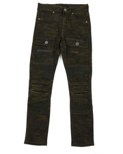 Jeans - Moto Twill Camo Jeans W/ Front Pockets (8-20)-2377235