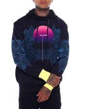 Vie + Riche - digital sunrise hoodie-2377435