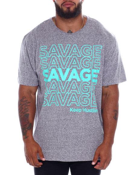 Brooklyn Cloth - Savage Repeat S/S Tee (B&T)