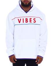Brooklyn Cloth - Vibes Piped Pullover Hoodie (B&T)-2377498