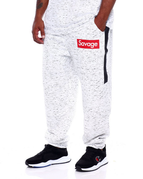 Brooklyn Cloth - Heat Sealed Zip Box Logo Jogger (B&T)