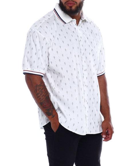 Buyers Picks - Woven 2 Way Stretch W/Knit Collar (B&T)