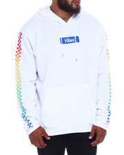 Hoodies - Hype Box Chckr Fleece Hoodie (B&T)-2377510
