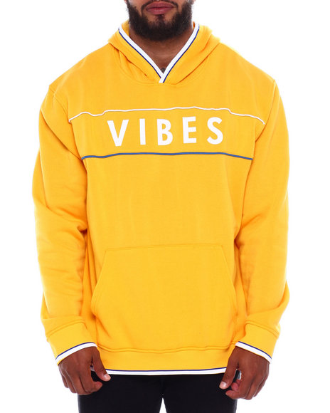 Vibes Piped Pullover Hoodie (B&T) by Brooklyn Cloth