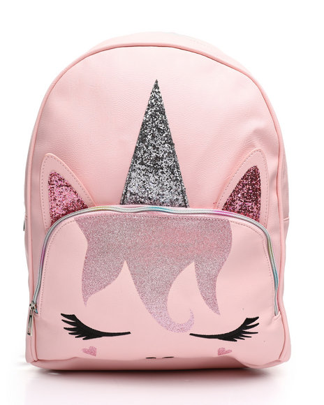 OMG! ACCESSORIES - Miss Gwen Pretty In Pink Sparkle Backpack