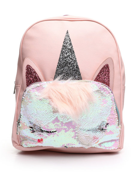 OMG! ACCESSORIES - Sequins Miss Gwen Backpack