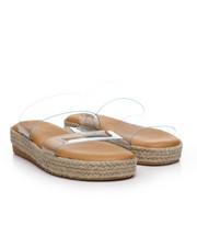 Women - Double Strap Espadrille Slide Sandals-2378273