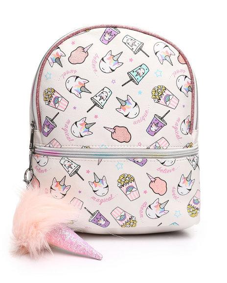OMG! ACCESSORIES - Sweet Treats Unicorn Mini Backpack