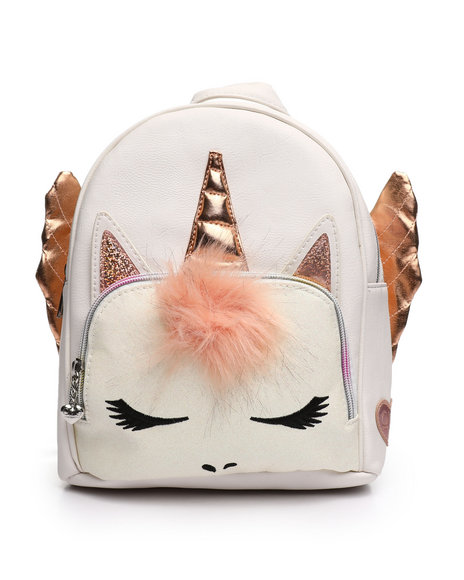 OMG! ACCESSORIES - Miss Gwen Winged Mini Backpack