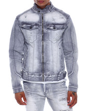Outerwear - Moto Denim Jacket-2377905