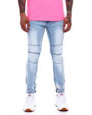 Jeans & Pants - Light Wash Seamed Jean-2377958
