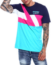 Parish - COLORBLOCK  CUT AND SEW TEE-2378896
