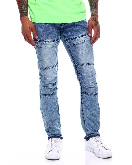 Buyers Picks - Med Blue Thigh Seam Jean