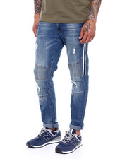 Men - Side Tape Moto Jean-2378963