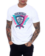 Parish - GEL LOGO PRINT TEE-2378861