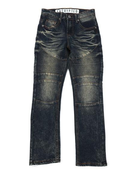 Arcade Styles - Moto Denim Jeans (8-18)