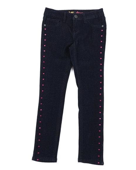 Lee - Heart Studs Skinny Jeans (7-14)
