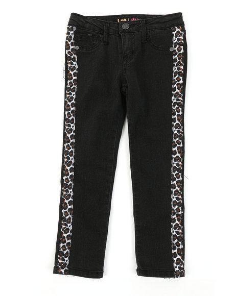 Lee - Leopard Tape Skinny Jeans (4-6X)