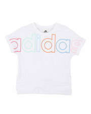 Girls - Cropped Exploded Outline Linear Tee (7-16)-2378579
