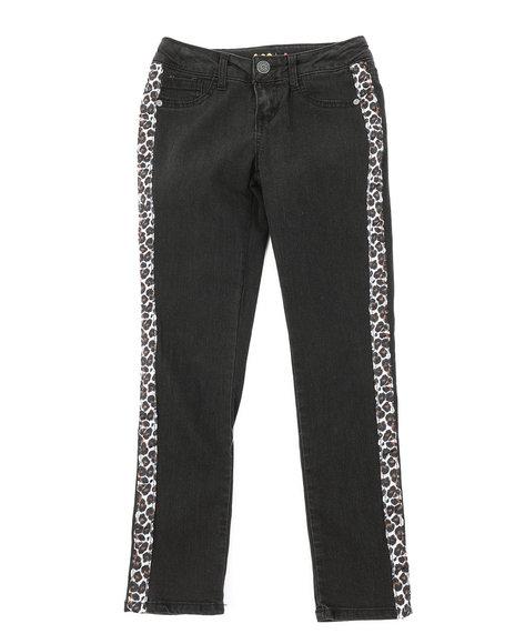 Lee - Leopard Tape Skinny Jeans (7-14)