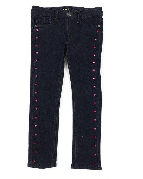 Lee - Heart Studs Skinny Jeans (4-6X)