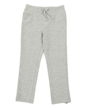 Girls - French Terry Knit Waist Skinny Pants (4-6X)-2378323