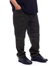 Jeans & Pants - Pleated Knee Colored Denim (B&T)-2379347