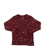 Tops - Long Sleeve Splatter Print Shirt (8-18)-2378545