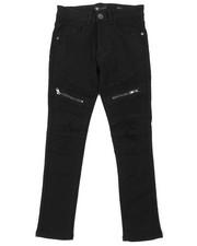Boys - Moto Jeans W/ Zipper Detail (8-20)-2379285