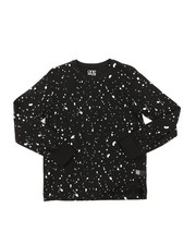Tops - Long Sleeve Splatter Print Shirt (8-18)-2378554