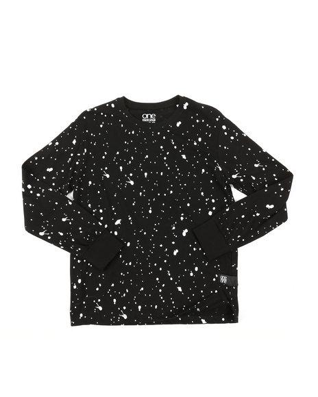 Arcade Styles - Long Sleeve Splatter Print Shirt (8-18)