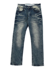 Bottoms - Faded Denim Jeans (8-20)-2379161